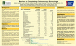 Barriers to Completing Colonoscopy Screenings by Adetola Fadeyibi, John Fialkovich, Mellory Gibberson, Joseph Kaserman, Peter Lloyd, Melinda Myzak, Joseph Pare, Greta Spottswood, Debbie Dameron, and James Vecchio