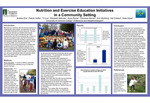 Nutrition and Exercise Education Initiatives in a Community Setting