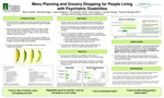 Menu Planning and Grocery Shopping for People Living with Psychiatric Disabilities