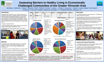 Assessing Barriers to Healthy Living in Economically