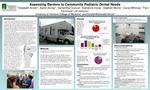 Assessing Barriers to Community Pediatric Dental Needs by Elisabeth Anson, Aaron Burley, Samantha Couture, Katherine Irving, Stephen Morris, Darryl Whitney, Pam Fenimore, and Jill Jemison