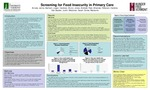 Screening for Food Insecurity in Primary Care by Jenna Arruda, Logan Bartram, Bruno Cardoso, Andrew Jones, Amanda Peel, Darlene Peterson, Justin Van Backer, Sarah Weisman, and Marianne Burke