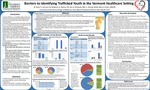 Barriers to Identifying Trafficked Youth in the Vermont Healthcare Setting by Benjamin Earle, Sarah Johnson, Nishan Bingham, Sarah Rosner, Maya Son, Edith Klimoski, Courtney Schaad, and Andrea Green