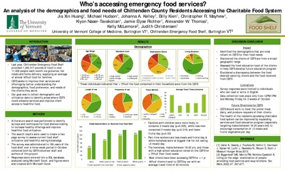 Quot Who S Accessing Emergency Food Services Quot By Jia Xin