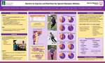 Barriers to Exercise and Nutrition for Special Olympics Athletes by Alyssa Kwok, Danielle Leahy, John McLaren, Christopher Meserve, Joseph Miller, Sierra Trejos, Jacqueline Wade, Mike Frisbie, Chris Langevin, and Stephen Contompasis