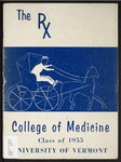 The RX. College of Medicine Yearbook by University of Vermont