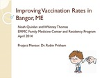 Improving Vaccination Rates in Bangor, ME