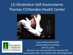 Alcoholism Self Assessments, Thomas Chittenden Health Center
