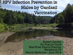 HPV Infection Prevention in Males by Gardasil Vaccination by Russell Landry