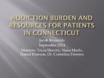 Addiction Burden and Resources for Patients in Connecticut