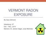 Vermont Radon Exposure