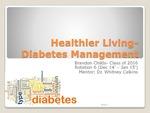 Healthier Living: Diabetes Management