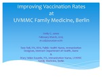 Improving Vaccination Rates at UVMMC Family Medicine, Berlin