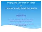Improving Vaccination Rates at UVMMC Family Medicine, Berlin
