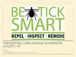 Preventing Lyme Disease in Windsor County, VT
