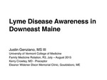Lyme Disease Awareness in Downeast Maine