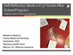 Self-Reflection Book in K-3rd Grade After School Program