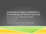 Increasing Awareness of the HPV Vaccine