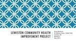 Lewiston Community Health Improvement Project