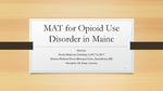 MAT for Opioid Use Disorder in Maine