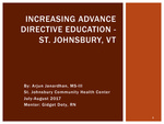 Advance Directive Initiative- St. Johnsbury, VT