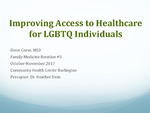 Improving Access to Healthcare for LGBTQ Individuals in Burlington