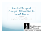 Alcohol Support Groups: Alternative to the AA Model