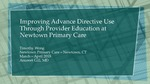 Improving Advance Directive Use Through Provider Education at Newtown Primary Care