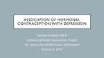 The Association of Hormonal Contraception with Depression