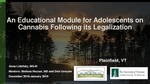An Educational Module for Adolescents on Cannabis Following its Legalization by Anna Lidofsky