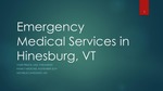 Emergency Medical Services in Hinesburg, VT