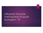 Influenza Vaccine Participation in South Burlington, VT by Rio Beardsley
