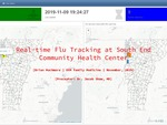 Real-time Flu Tracking at South End Community Health Center by Brian Muchmore and Jacob Shaw M.D.