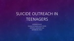 Suicide Outreach in teenagers by Alexander Miller