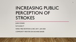 Increasing Public Perceptions of Stroke