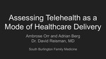 Assessing Telehealth as a Mode of Healthcare Delivery