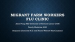 Migrant Farm Workers Flu Clinic by Alice Peng
