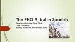 PHQ-9, but in Spanish by Jose Calderon
