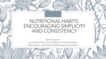Nutritional Habits: Encouraging Simplicity and Consistency by Alim Esemenli