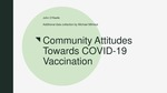 Community Attitudes Towards Covid-19 Vaccination by John P. O'Keefe