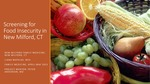Screening for Food Insecurity in New Milford, CT