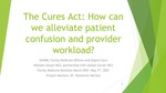 The Cures Act: How can we alleviate patient confusion and provider workload?