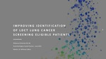 Improving Identification of LDCT Lung Cancer Screening Eligible Patients