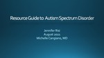 Resource Guide for Autism Spectrum Disorders