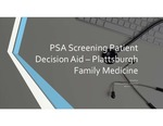 PSA Screening - Patient Decision Aid by Michael Brown