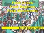 Racism and capitalism: Dual challenges for the food movement