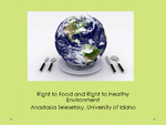 Does the Human Right to Food Include an Implicit Right to a Healthy Environment?