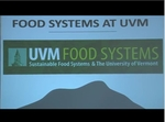 Day 1 Welcoming Remarks by UVM Food Systems Summit